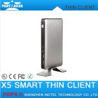Wholesale RDP8 Thin Client X5 for Windows MultiPoint Sever and Windows 8 Fanless Cloud Computer VMware from china suppliers