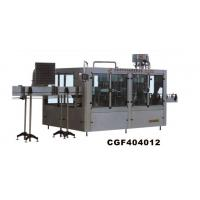 Wholesale CGF series washing, filling, capping three and one machine from china suppliers