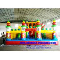 Wholesale Outdoor Commercial Inflatable Fun City Games , Inflatable Indoor Playground from china suppliers