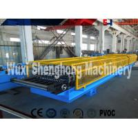 Wholesale PLC Control Sheet Roll Forming Machine , Wall Panels Roll Forming Line from china suppliers