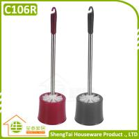 Wholesale Hotel Bathroom Design Stainless Steel Handle Clean Toilet Brush With Holder from china suppliers