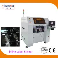 Wholesale Multi Function PCB Labeling Machine , 0.05mm Vision Odd Form Sticker Mounter from china suppliers