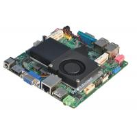 Wholesale Intel® 1037U CPU Embedded Nano mainboard Support VGA / HDMI / LVDS Dual Display from china suppliers
