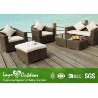 Wholesale General PE Artificial Rattan Furniture Rattan Dining Set Durable Wicker Outdoor Furniture from china suppliers