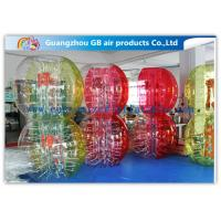 Wholesale Custom Amazing Bubble Suit Inflatable Bumper Ball For Sports Entertainment from china suppliers