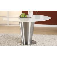 Wholesale Stainless Steel Artificial White Marble Top Round Dining Table Dia1000 * 750mm from china suppliers
