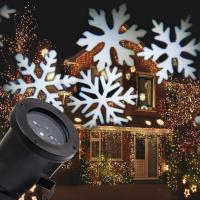 Wholesale snowflake pattern projector bulb light led projection light from china suppliers