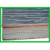 Wholesale Non Toxicity Woven Fabric Foam Fire Retardant Foil Insulation 3mm / 5mm from china suppliers