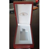 Wholesale Luxury Red Wooden Perfume Gift Box Customer Logo MDF Painting from china suppliers