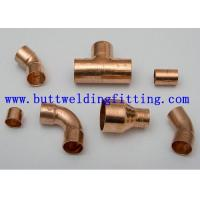Wholesale CuNi Butt Weld Fittings ERW Welded Elbow Tee Reducer Cap EEMUA 146 C7060x from china suppliers