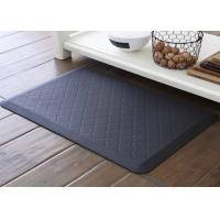 Wholesale Rectangle Decorative Kitchen Floor Mat Washable / Anti Fatigue Kitchen Runner from china suppliers