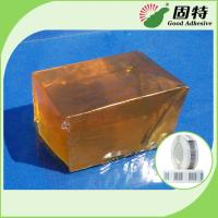 Wholesale PSA Hot Melt Glue Adhesive Tape For Paper Label YD-102B , Yellow And Transparent Block from china suppliers