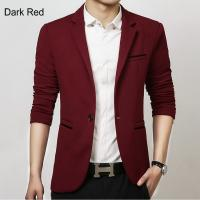 Wholesale Men Casual Blazer Suit Fashion Design Slim-fit Suit Good Quality Hot Sale ! from china suppliers