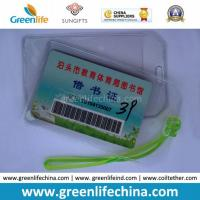 Wholesale Cheapest Factory Supply Soft PVC Card Holder for Luggage Tag from china suppliers