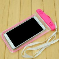 Wholesale Universal 5.5 Inch Pvc Waterproof Phone Bag For Iphone 6s 6 Plus , Pink / Oragne / Blue from china suppliers
