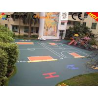 Wholesale 250*250*12.7mm Rubber Kindergarten Flooring For Kindergarten Playground from china suppliers