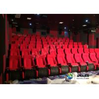 Wholesale Sound Vibration Movie Theater System Arc Screen With Special Leather Theater Chairs from china suppliers