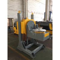 Quality L Shaped Welding Positioner With 600mm Dia Table / Hydraulic Lifting Stroke for sale