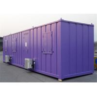 Buy cheap Galvanized Fireproof Demountable Prefab Steel Framed Houses from wholesalers