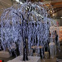Wholesale 3.5m artificial tree light/led willow tree from china suppliers