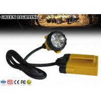 Wholesale GL12-A IP68 490g Weight 3W 25000Lux 10.4Ah Rechargeable LED Headlamp from china suppliers