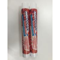 Buy cheap Round Laminated Aluminum Barrier Toothpaste Tube With Fez Cap Φ28 250μ from wholesalers