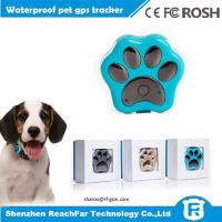 Buy cheap Most popular smart mini gps gsm tracker price with collar for pet dogs cats from wholesalers