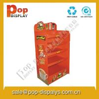 Wholesale Custom Corrugated Cardboard Display Stands For Coffe Promotion from china suppliers