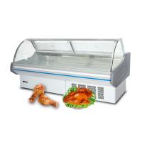 China OEM Vertical Meat Refrigeration Deli Display Refrigerator Energy Efficient on sale
