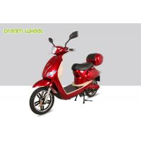 Wholesale 25-32km/h Canada moped power assisted electric scooter/bicycle with 500W 48V battery from china suppliers