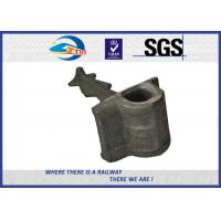 Wholesale railroad construction Cast Iron railway shoulders railway parts weld on from china suppliers
