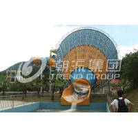 Wholesale Strong Large Tornado Fiberglass Water Slides SGS CE Certificate for Water Park from china suppliers