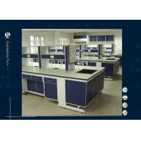 Wholesale Full Steel Laboratory Island bench Modular Laboratory Furnitue from china suppliers