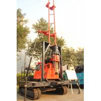 Wholesale 200m Hydraulic Crawler Rock Drill With Mud Pump , Generator On Board from china suppliers