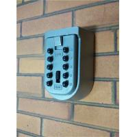 Quality Original Wall Mounted Key Lock Box ,10 Push Button Combination Key Lock Box for sale