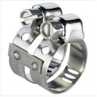 Wholesale Double Band Air Condition Hose Clamps 8mm Width For Gasoline Engine from china suppliers
