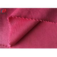China Super Soft 100 Polyester Tricot Plain Fabric / Mercerized Cloth Poly Tricot Fabric on sale
