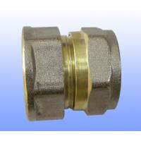 Wholesale compression brass fitting female straight for PEX-AL-PEX from china suppliers