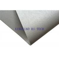 Wholesale Gray Color Silicone Coated Fireproof Fiberglass Fabric High Insulation Performance from china suppliers