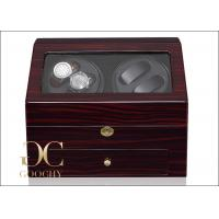 Wholesale PU Leather Watch Case Automatic Winder , Automatic Winding Watch Box CE / ROHS / GS from china suppliers