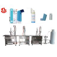 Wholesale Asthmatic Bronchitis Spray Aerosol Filling Machine from china suppliers
