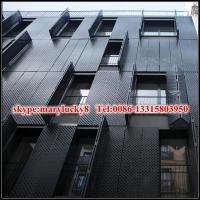 Wholesale Powder coated aluminium perforated panel for facade from china suppliers