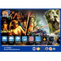 Wholesale Interactive 5D Movie Theater  Virtual Game Simulator OEM / ODM Available from china suppliers
