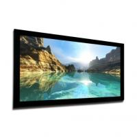 Wholesale Fixed frame projection screen wall mounted , 3D Silver Screen with Black Velvet from china suppliers