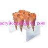 Buy cheap Hình chữ U 6 lỗ suốt waffle acrylic khay nón from wholesalers