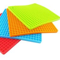 Wholesale Multifunctional Heat Resistant Silicone Pot Holder Silicone Trivet from china suppliers