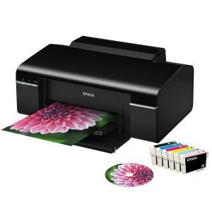 Quality Printer Machine A4 Sublimation Inkjet Printer Epson T50 for Tray / Tshirt / PVC / ID Card / CD Printing for sale