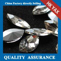 Buy cheap point back rhinestone for dress,china wholesale pointback glass rhinestone from wholesalers