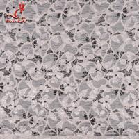 Wholesale Fashion Swiss Lace Fabric 140cm Width / Embroidered Bridal Lace Fabric from china suppliers