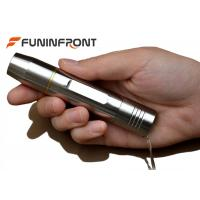 Wholesale Led Rechargeable Flashlight Stainless Steel 365nm , High Powered Flashlight 14500 Battery from china suppliers